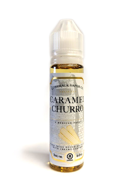 Caramel Churro by Gobsmack Vapor Co. Toronto Ontario Canada Wicks & Wires Vape Shoppe