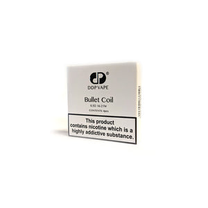 Bullet Coil 0.5 Ohm for DDP EVO (3-pack) by DDP Vape Toronto Ontario Canada Wicks & Wires Vape Shoppe