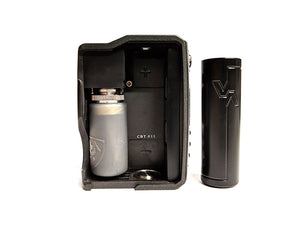Spade 21700 DNA75c  & Dual Bottle Holder (21mm 64) Package by Vicious Ant Toronto Ontario Canada Wicks & Wires Vape Shoppe
