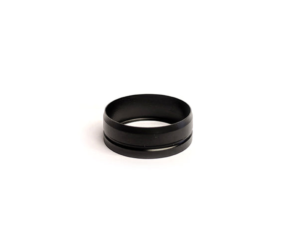 Black Delrin KRMA Profile Beauty Ring by Mission XV Toronto Ontario Canada Wicks & Wires Vape Shoppe