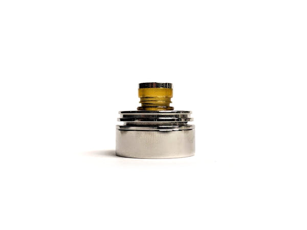 Polished Stainless Steel Inverted Torpedo Cap by Hussar Vapes Toronto GTA Vaughan Ontario Canada | Wicks & Wires Vape Shoppe
