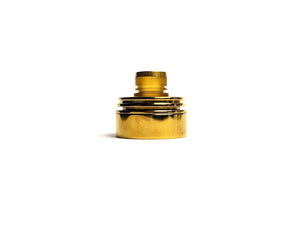 Polished Gold Inverted Torpedo Cap by Hussar Vapes Toronto GTA Vaughan Ontario Canada | Wicks & Wires Vape Shoppe