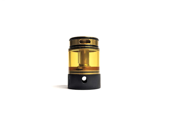 Project X Extension Tank, Black & Gold by Hussar Vapes Toronto GTA Vaughan Ontario Canada | Wicks & Wires Vape Shoppe