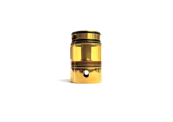 Project X Extension Tank, Polished Gold by Hussar Vapes Toronto GTA Vaughan Ontario Canada | Wicks & Wires Vape Shoppe