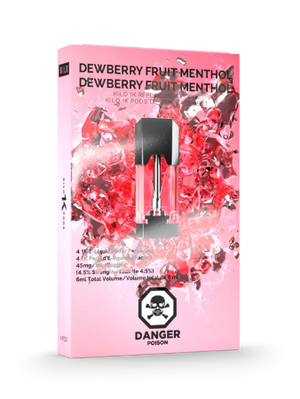 Dewberry Fruit Menthol 1K Pods by Kilo E-Liquids Toronto GTA Vaughan Ontario Canada | Wicks & Wires Vape Shoppe