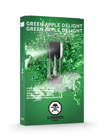 Green Apple Delight 1K Pods by Kilo E-Liquids Toronto GTA Vaughan Ontario Canada | Wicks & Wires Vape Shoppe