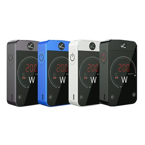 Pollex 200W Touch Screen Box Mod by Kangertech Toronto Ontario Canada Wicks & Wires Vape Shoppe