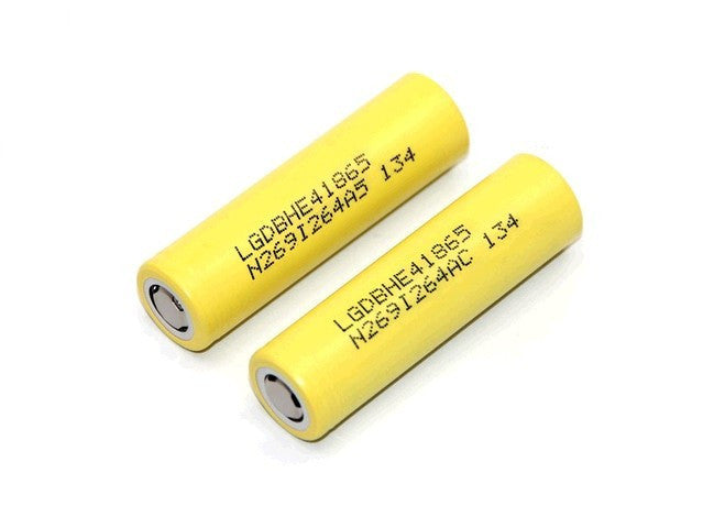 LG HE4 18650 2500MAH High Drain Lithium Battery
