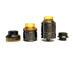 Sherman 25MM RDA by Asylum Mods Toronto Ontario Canada Wicks & Wires Vape Shoppe