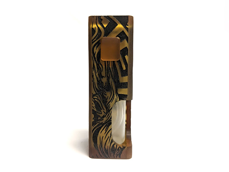 SQNK Final Breed Limited Edition Ultem Mechanical Bottom Feed Squonk Mod by Proteus Progeks Toronto Ontario Canada Wicks & Wires Vape Shoppe