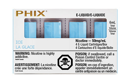 PHIX Ice Tobacco by MLV Toronto GTA Vaughan Ontario Canada Wicks & Wires Vape Shoppe