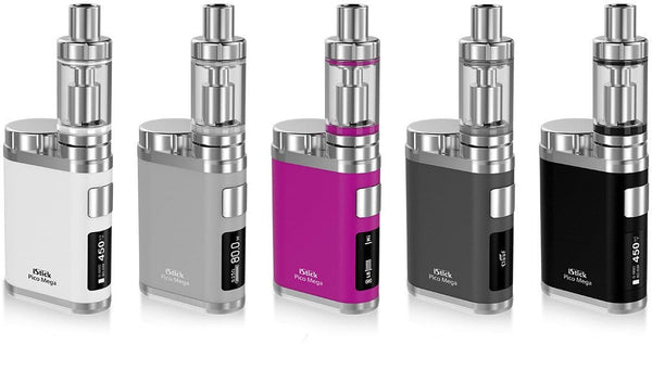Eleaf iStick Pico Mega Starter Kit by Eleaf and Jay Bo Designs Toronto Ontario Canada Wicks & Wires Vape Shoppe
