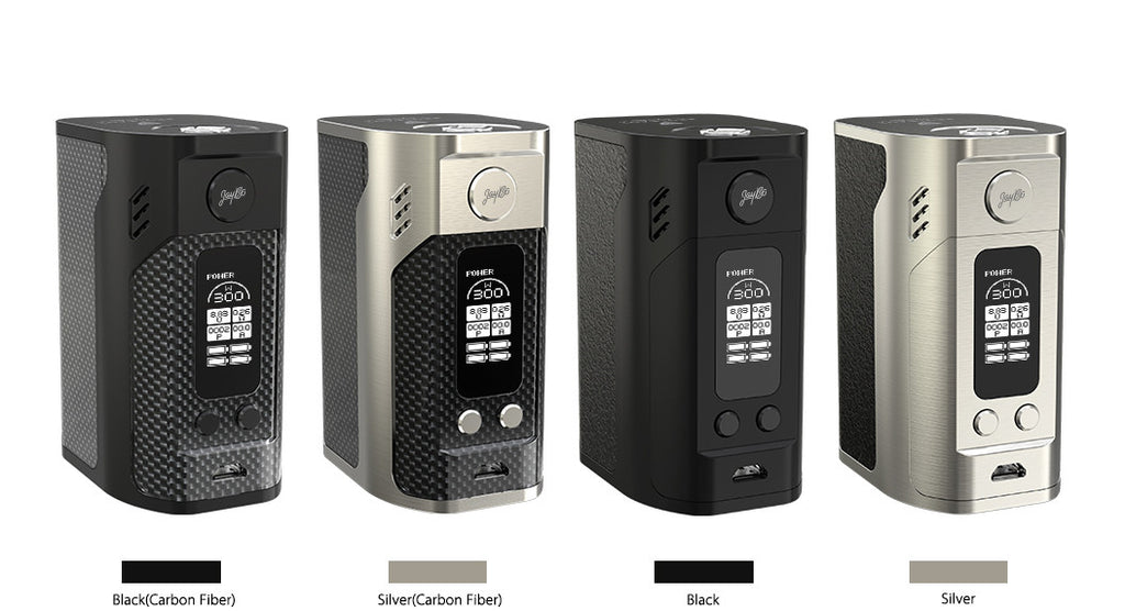 Reuleaux RX300 TC Box Mod by Wisemec Toronto Ontario Canada Wicks & Wires Vape Shoppe