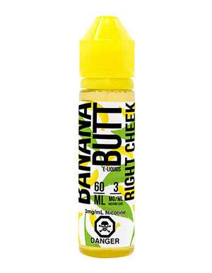 Right Cheek by Banana Butt E Liquid Toronto Ontario Canada Wicks & Wires Vape Shoppe