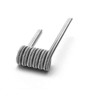 Staggered Fused Clapton Coils (317L SS) by Definitive (S3) Toronto Ontario Canada Wicks & Wires Vape Shoppe