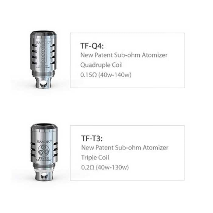 Replacement Coils for SMOK TFV4 Tank