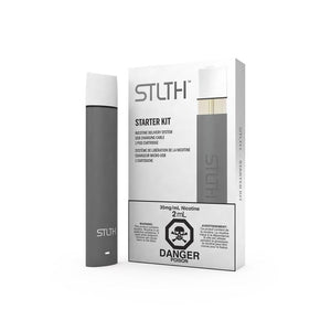 STLTH Starter Kit Grey by STLTH Toronto Ontario Canada Wicks & Wires Vape Shoppe