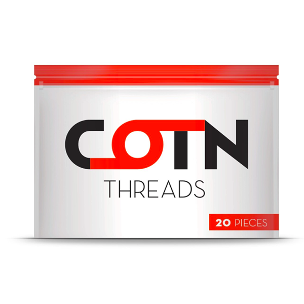 COTN Threads by GETCOTN Toronto Ontario Canada Wicks & Wires Vape Shoppe