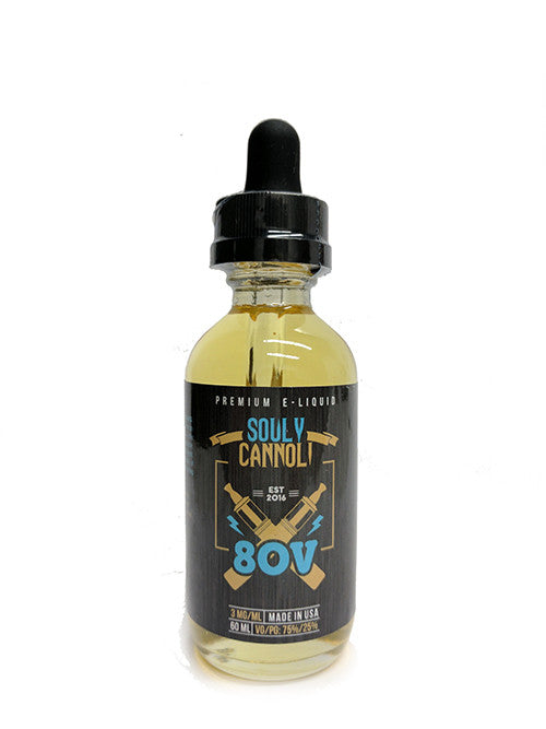 Souly Cannoli by 80V Toronto Ontario Canada Wicks & Wires Vape Shoppe