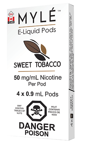 Sweet Tobacco Myle Pods by Myle Toronto GTA Vaughan Ontario Canada | Wicks & Wires Vape Shoppe