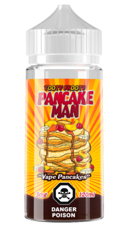 Tooty Fruity Pancake Man by Vape Breakfast Classics Toronto Ontario Canada Wicks & Wires Vape Shoppe