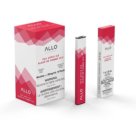 Fuji Apple Ice by Allo Vapor Toronto GTA Vaughan Ontario Canada Wicks & Wires Vape Shoppe