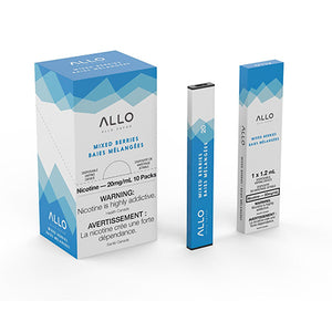 Mixed Berries by Allo Vapor Toronto GTA Vaughan Ontario Canada Wicks & Wires Vape Shoppe