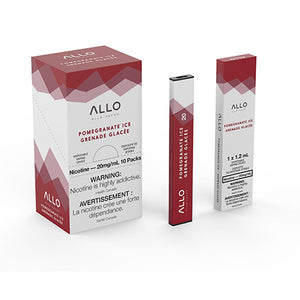 Pomegranate Ice by Allo Vapor Toronto GTA Vaughan Ontario Canada Wicks & Wires Vape Shoppe