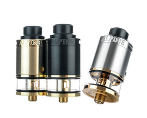 Alpine RDTA by Syntheticloud Toronto Ontario Canada Wicks & Wires Vape Shoppe