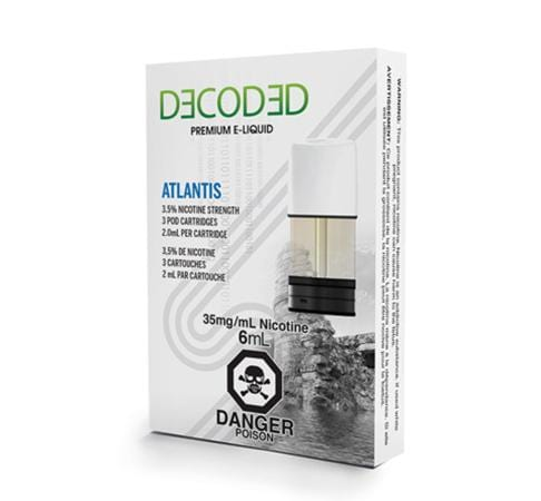 Decoded Atlantis by STLTH Toronto GTA Vaughan Ontario Canada | Wicks & Wires Vape Shoppe