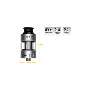 Cleito Pro Tank by Aspire Toronto Ontario Canada Wicks & Wires Vape Shoppe