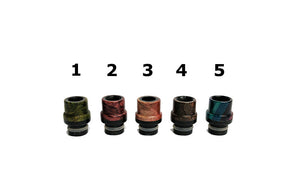 Odis Crown Black Edition Drip Tips by Odis Collection Toronto Ontario Canada Wicks & Wires Vape Shoppe