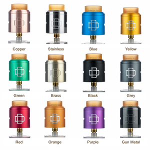 Druga 24mm RDA by Augvape Toronto Ontario Canada Wicks & Wires Vape Shoppe