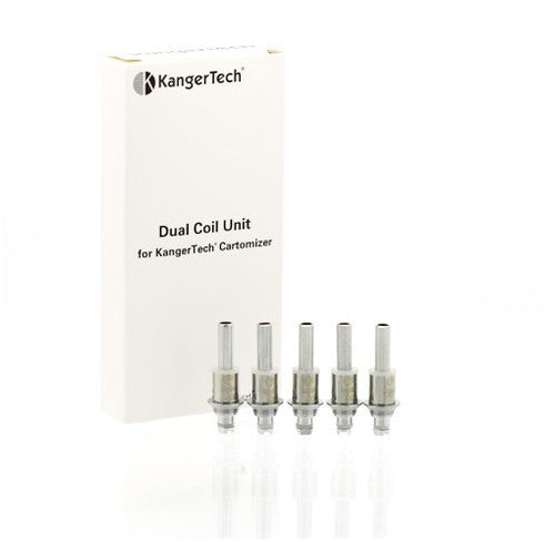 KangerTech Dual Coil Replacement (5 Pack)