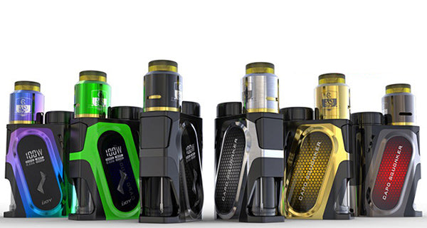 Capo 100w Squonker Kit by IJoy Toronto Ontario Canada Wicks & Wires Vape Shoppe