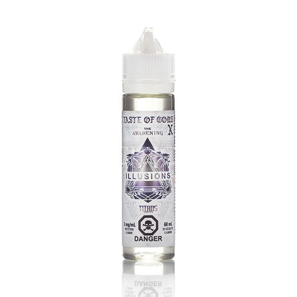 Taste of Gods X by Illusions Toronto Ontario Canada Wicks & Wires Vape Shoppe
