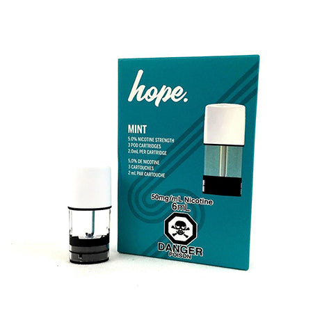 Hope Mint by STLTH Toronto GTA Vaughan Ontario Canada | Wicks & Wires Vape Shoppe
