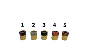 Odis Micro Ultem Drip Tip by Odis Collection Toronto Ontario Canada Wicks & Wires Vape Shoppe