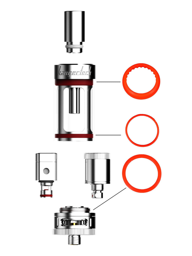 KangerTech - Replacement O-Rings for Subtank Mini