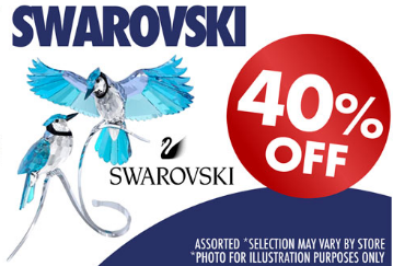 SWAROVSKI 40% Off Use Code SWAR40