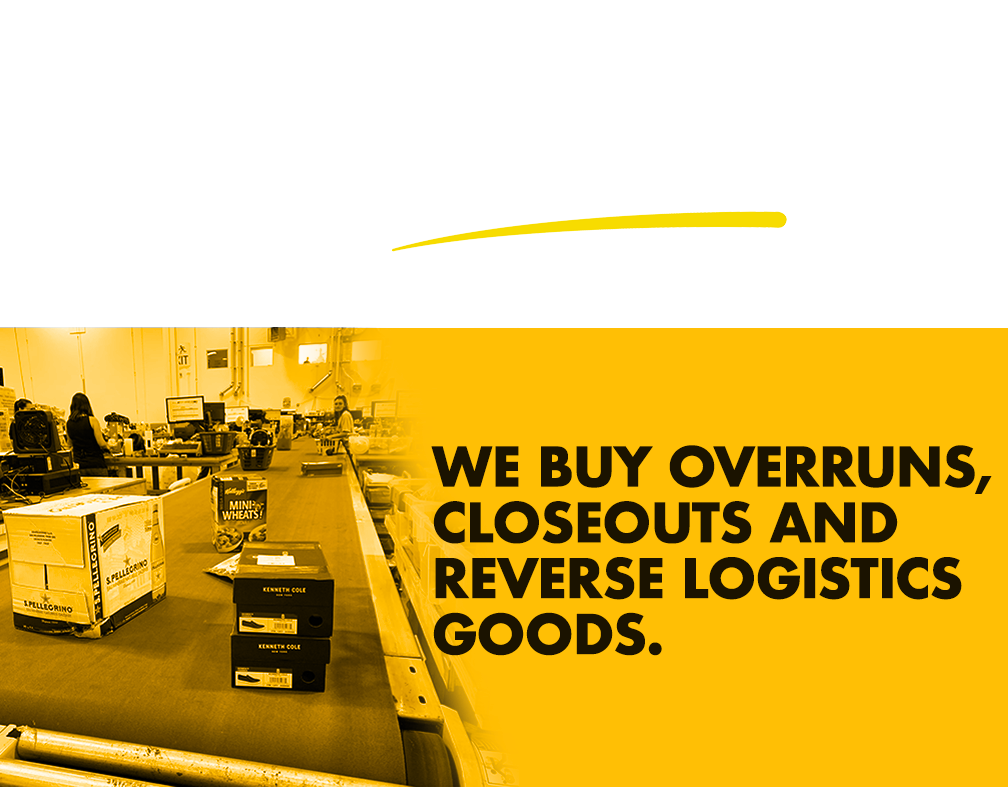 Big Box Outlet Store Reverse Logistics goods.