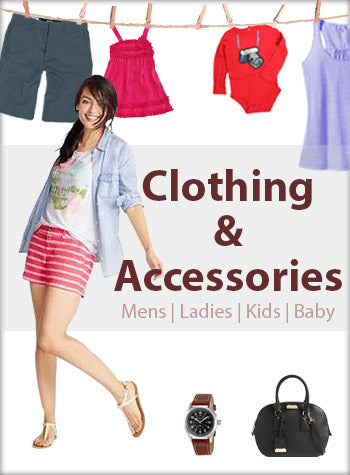 Clothing and Accessories Men Women Kids Baby