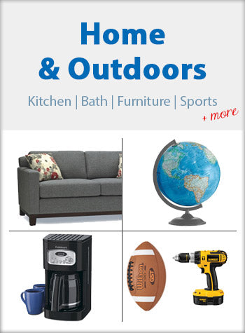 Home and Decor Outdoors Kitchen Bath Furniture Sports