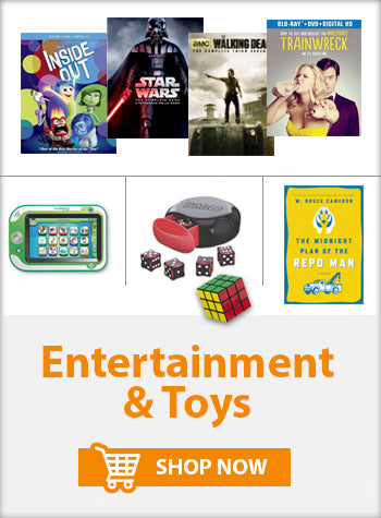 Entertainment and Toys Movies Kid's Toys Music TV Series