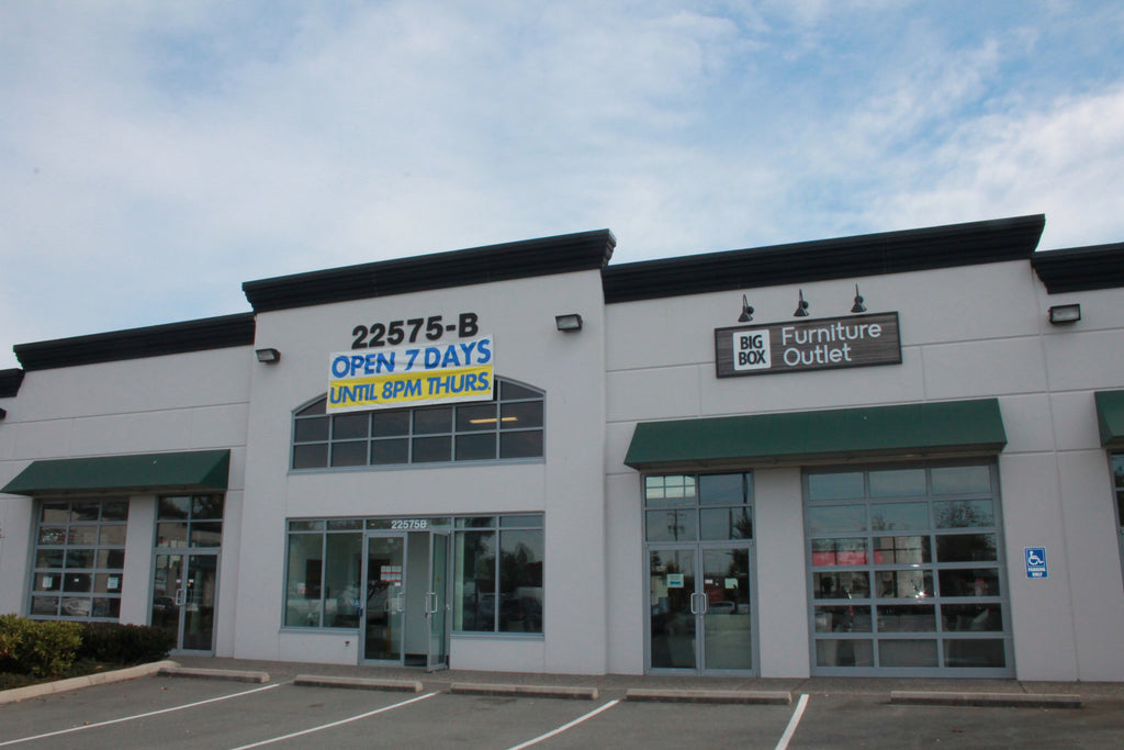 Langley Bc Discount Furniture Store Big Box Outlet Store