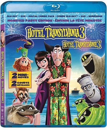 Hotel Transylvania 3: Summer Vacation  ( Blu-ray/DVD Combo )