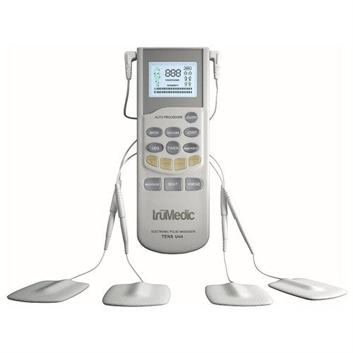 TruMedic TM-1000PRO Deluxe TENS Unit Electronic Pulse Massager