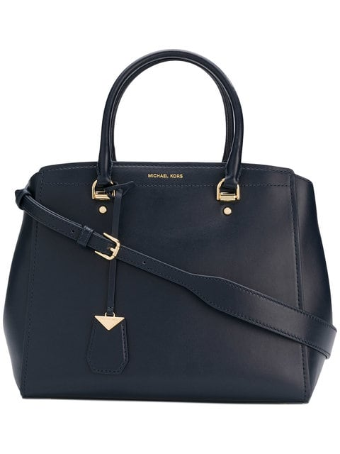 Michael Kors Benning Large Satchel - Black