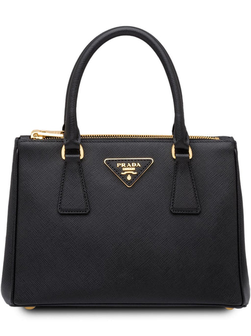 Prada Galleria Small Saffiano Leather Bag Lux Nero