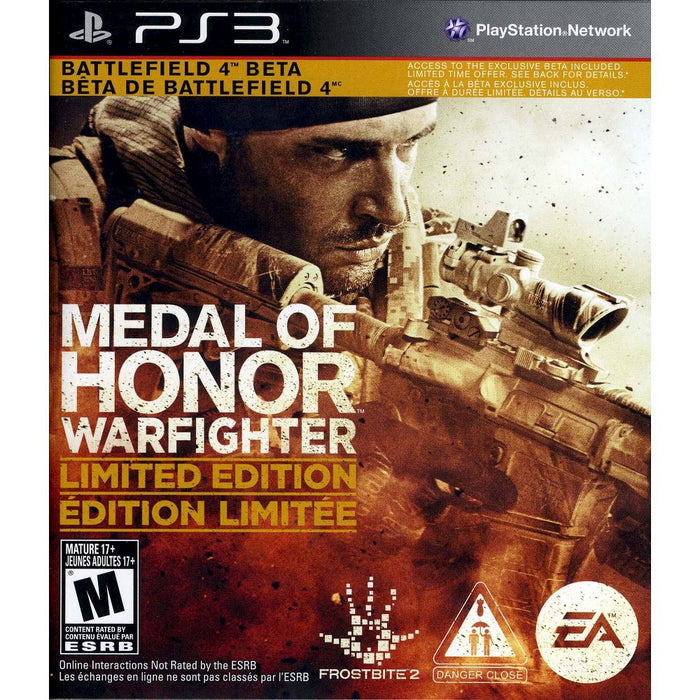 Medal Of Honor Warfighter: Limited Edition (PS3)